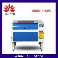 Hcz co2 laser cnc 100 w 4060 cortador de gravura do laser máquina da marcação mini gravador do laser cnc roteador cabeça laser diy