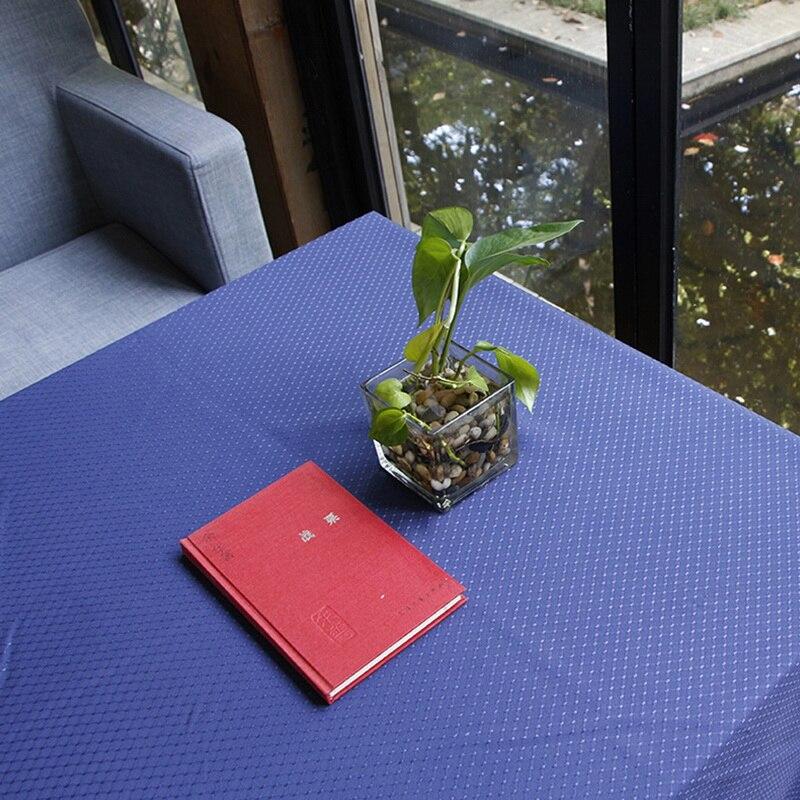 Urijk 1 шт. черный скатерть Ткань покрытие стола spillproof свадьба скатерть ужин Скатерти прямоугольный Банкетный Аксессуары
