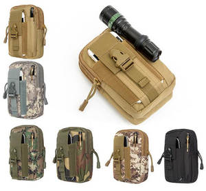 Purse Wallet Pouch Belt Phone-Case Climbing-Bag Molle Tactical Military Outdoor 100pcs/Lot