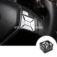 Interior Steering Wheel Button Trim Cover 12pcs For Benz E Class W212 S212 Coupe W207 C207