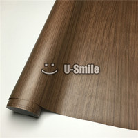Oak Wood Grain Vinyl Wrap Film Sheet For Wall Furniture Car Interior Size 1 24X50m Roll