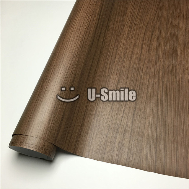 buy oak wood grain vinyl wrap film sheet for wall furniture car interior size 1. Black Bedroom Furniture Sets. Home Design Ideas