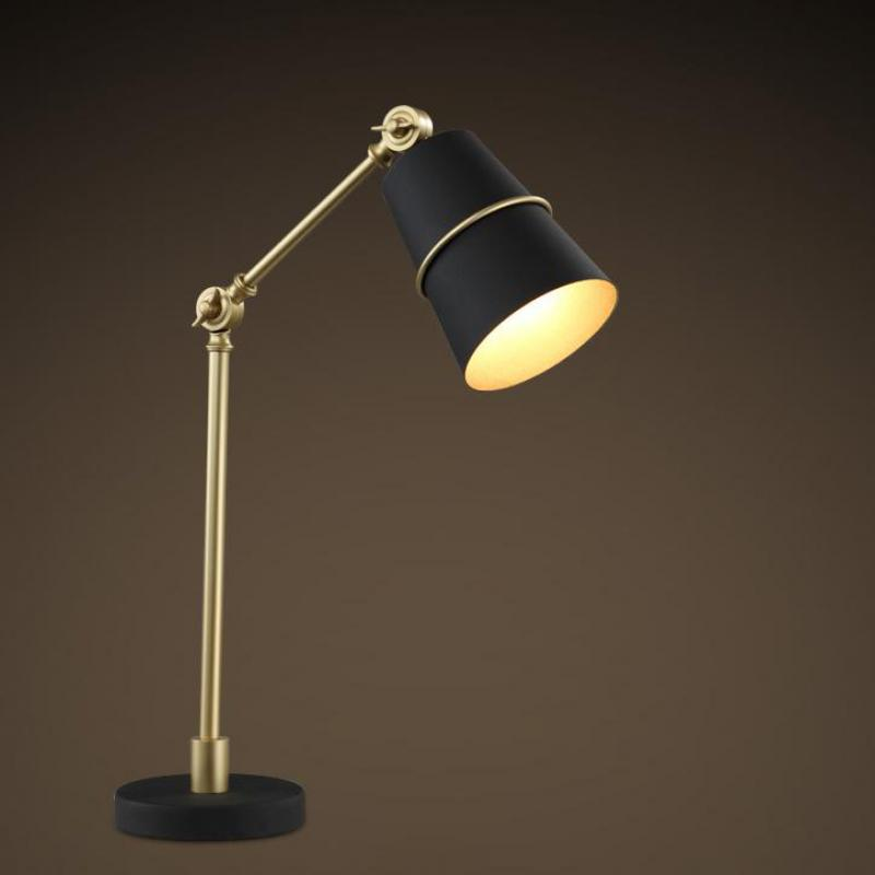Nordic Modern Art And Creative Personality iron table lamp ...