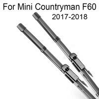 Car Wiper Blade Soft Rubber Window Clean Windshield Wipers For Mini Countryman F60 2017 2018 Car