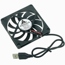 5 Pieces/lot USB 5V Fan 80mm 80mmx80mmx10mm 8cm 8010 DC Cooling Cooler Fan цена