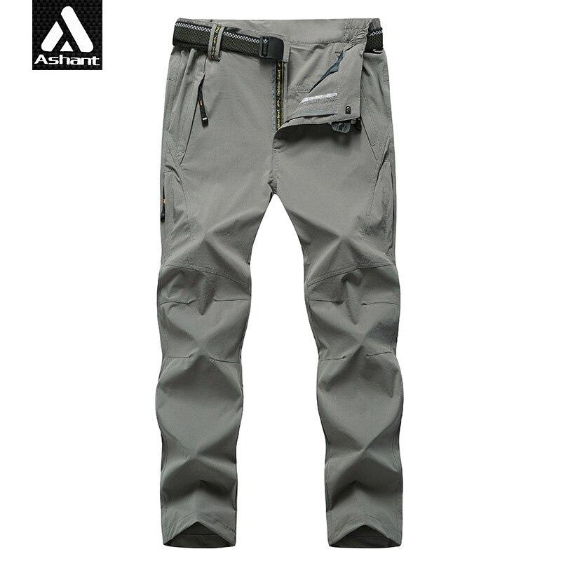 Men Summer Light Quick Dry Pants Man Brand Clothing Male Waterproof Plus Size XXXXL 4XL 5XL