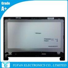 LCD Module For FLEX 15 1366x768 LVDS B156XTT01 0 Laptop Touch Screen Assembly With Bezel 90400210