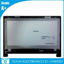 LCD Module For FLEX 15 1366×768 LVDS B156XTT01.0 Laptop Touch Screen Assembly With Bezel 90400210