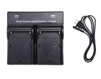 NP F960 Dual Digital Camera Battery Charger For SONY NP F970 F750 F960 QM91D FM50 FM500H