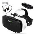 Bobovr z4 mini vr gafas con gafas 3d envolvente exterior Gafas de Realidad Virtual con Auriculares Hi-fi Mini Versión BOBO VR Z4