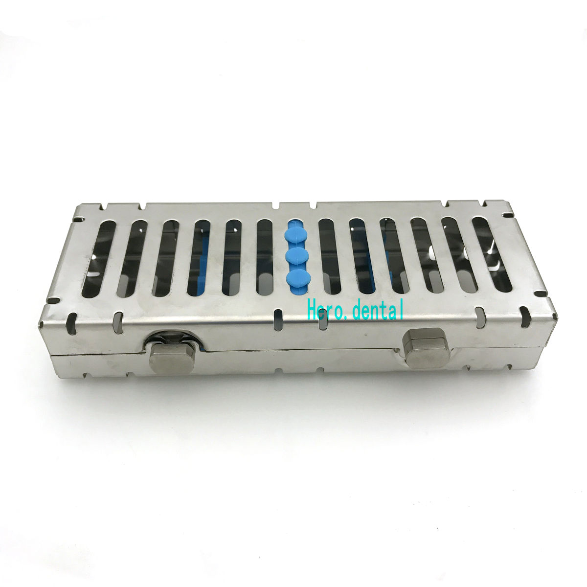 Dental Sterilization Cassette Rack Tray Box for Surgical Instruments new dental implant bur drill tool sterilization cassette kit organizer box tray