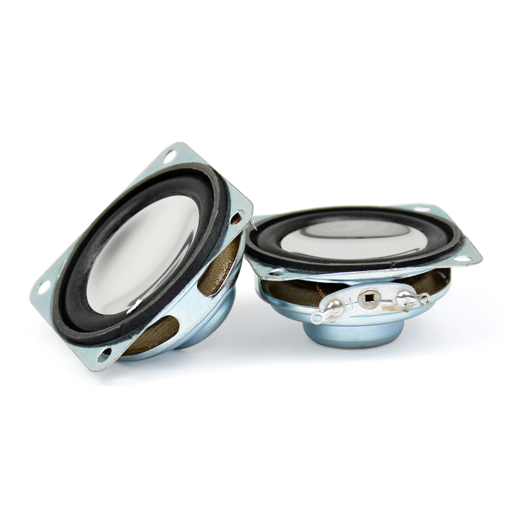 1.5Inch Portable Audio Speaker Strong Magnetic Speakers 8Ohm 2W 40MM Mini PU Edge Cone Loudspeaker