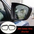 Зеркальный блок для автомобиля Ford Focus 2019  хромированный/карбоновый корпус из АБС-пластика для защиты от дождя и бровей  аксессуары для отдел...