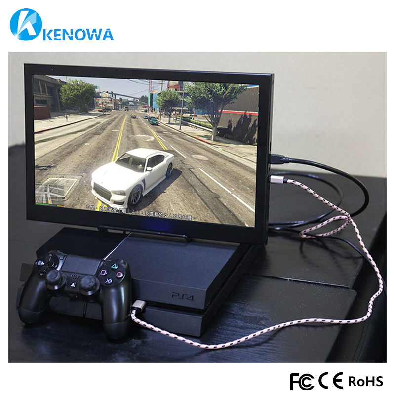 13.3 Portable Computer Monitor PC 1920x1080 HDMI PS3 PS4 Xbox360 1080P IPS LCD LED Display Monitor for Raspberry Pi 3 B 2B