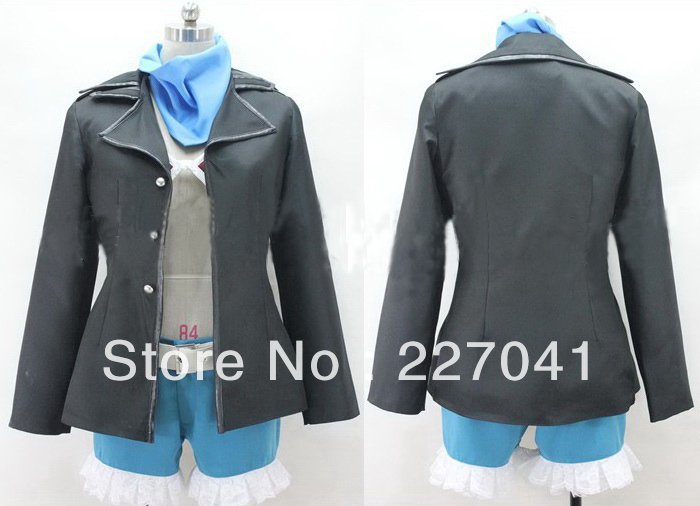 New Ao no Exorcist Kirigakure Shura cosplay costume
