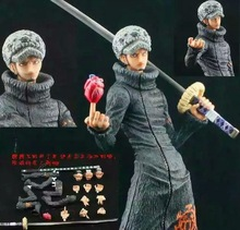 30cm Trafalgar Law One Piece Action Figures Anime PVC brinquedos Collection Figures toys with Retail box AnnO00586A