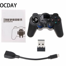 2.4G Wireless Gaming Joystick Controller Gamepad For Android Tablet PC Smart TV Box