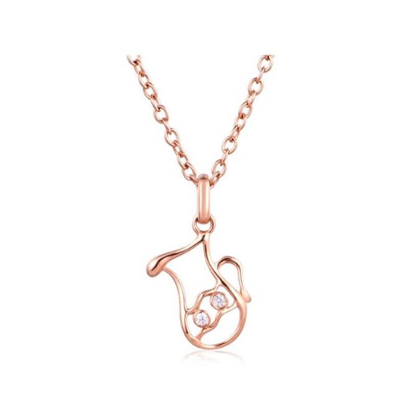 Collier pendentif verseau abstrait or 18 K collier zodiaque verseau accessoire pour femme bijoux astrologie AU750