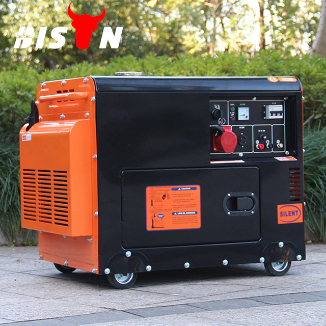 Diesel Generator For Sale >> Bison China 5kw 5kva Silent Diesel Generator Price Electric Small