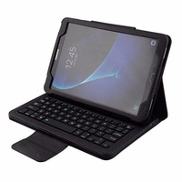 Eagwell 2 In 1 Removable Wireless Bluetooth Keyboard PU Leather Case For Samsung GALAXY Tab A
