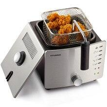 Envío libre máquina de freír freidora eléctrica sin humo hogar multifuncional pequeña sartén frito pollo auténtico