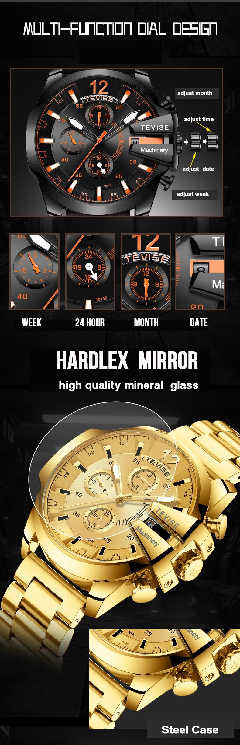 Brand Clock Waterproof Last 7