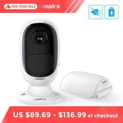 Reolink Argus 2 WiFi Kamera Akku Powered IP Kamera 1080 P Volle HD Outdoor Indoor Sicherheit 130 Weiten Blick winkel