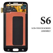 ЖК дисплей для s6 с сенсорным экраном в сборе super amoled lcd