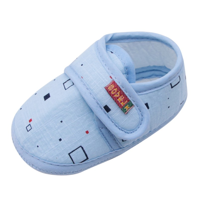 ead566b3b6517 Cotton Baby Girls Shoes Infant First Walkers Toddler Girls Kid ...