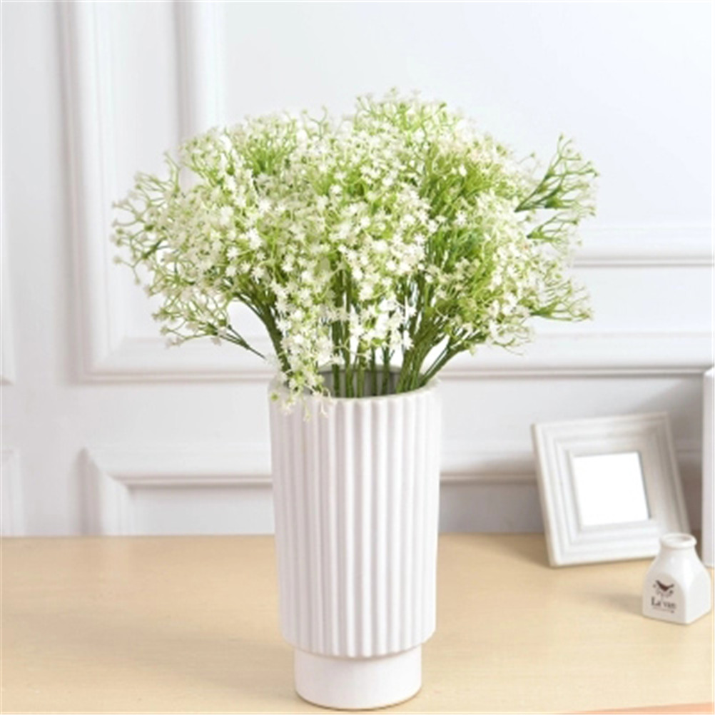 Diy Decorations Mantianxing 60cm Rustic Artificial Flowers White