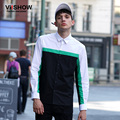 VIISHOW Casual Brand Shirt Men Autumn Cotton Business Shirt Men Patchwork Long Sleeve Shirt Fashion Men Clothes CC20063