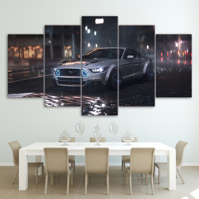 Classic car picture wall poster