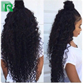 Бразильский Full Lace Человеческих Волос, Парики Фронта Шнурка Для Чернокожих Женщин вьющиеся Полный Парик Шнурка Фронта Шнурка Человеческих Волос Парики С Волосами Младенца