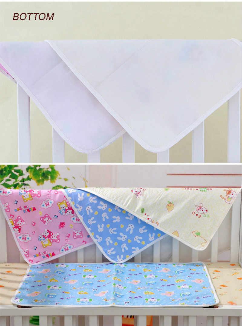 Cambiador de pañales de bebé almohadilla de algodón ecológico cambiador de pañales Tabla de dibujos animados bebé colchón impermeable sábana de cama infantil Cambio de estera cubierta
