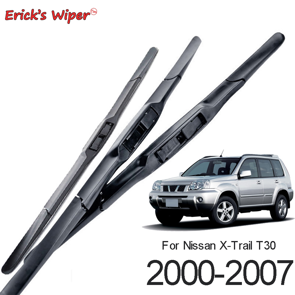 Wiper-Blades-Set X-Trail t30 Nissan Windscreen Rear for Front 2000-2007 24-16--17-Erick's title=