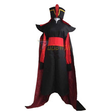 Adult Mens Aladdin Jafar Villain Costume Outfit Cosplay for Halloween