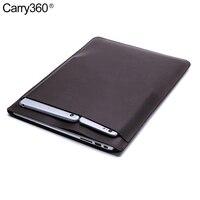 Carry360 PU Deri Laptop Çantası Kol Apple Macbook Air Pro Retina için 11 12 13 15 inç Macbook Pro 13 için Kılıf ile Dokunmatik Bar