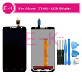 For Alcatel One Touch Idol 2 Mini L 6014 OT6014 LCD Display+Touch Screen Digitizer Assembly Replacement+tools