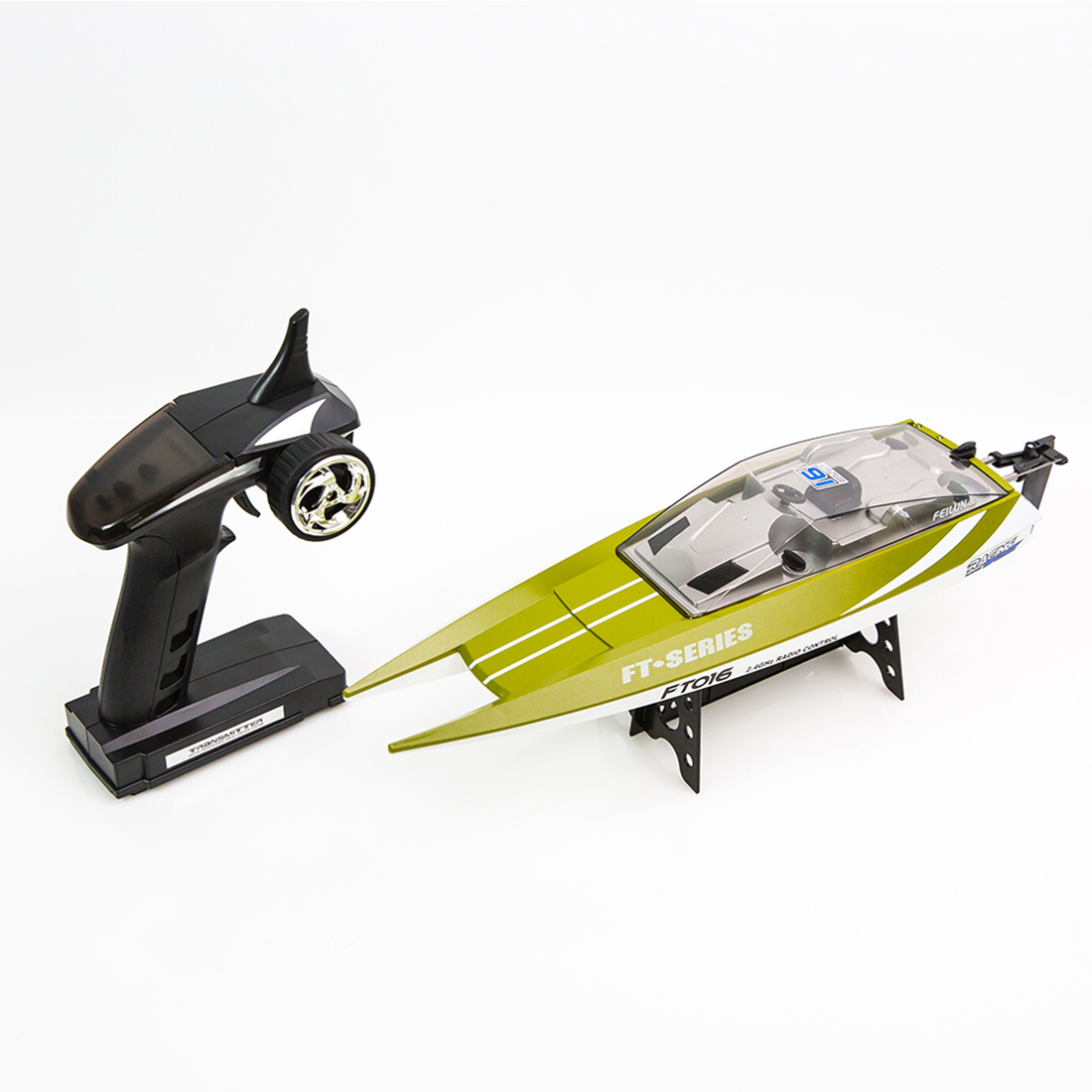 Nouvelle arrivée Feilun FT016 2.4G télécommande hors-bord RC bateau jouet pour enfants cadeau de noël