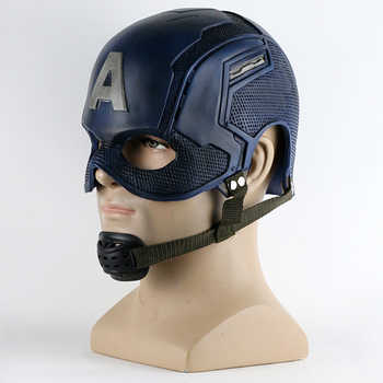 2016 Movie Superhero Helmet Captain America Civil War Helmet Mask Cosplay Steven Rogers Halloween Helmet For Collection
