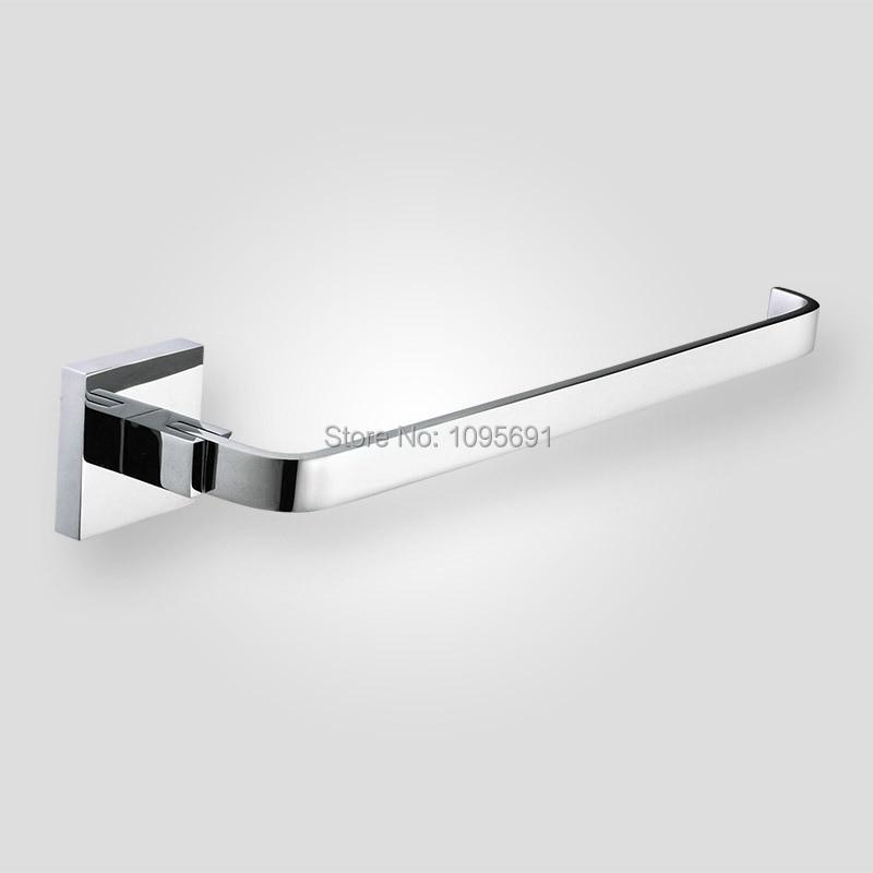 ФОТО Free shipping Solid copper brass chrome Towel rack Towel bar bath towel holder Bathroom products Bathroom accessories