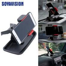 Черный ABS сотовый мобильный телефон Ipad держатель Автомобильный GPS Кронштейн держатель для хранения Органайзер коробка для Jeep Wrangler JK 2012-2017
