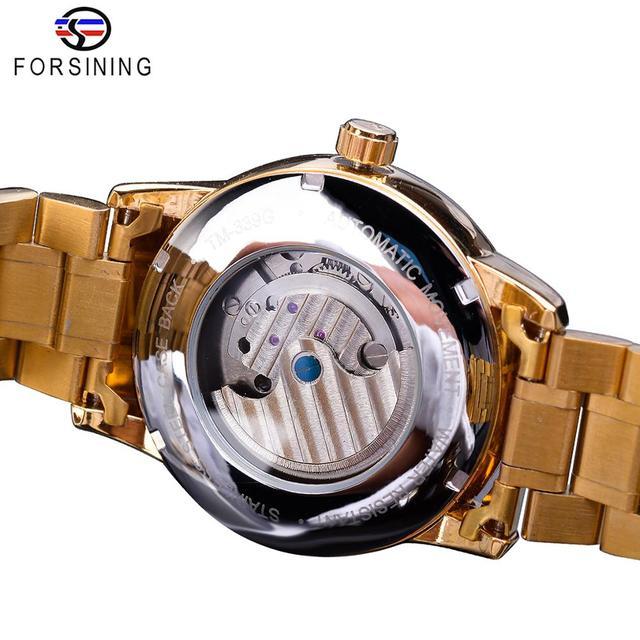 Automatic Self-Wind Male Watch Golden watch 3