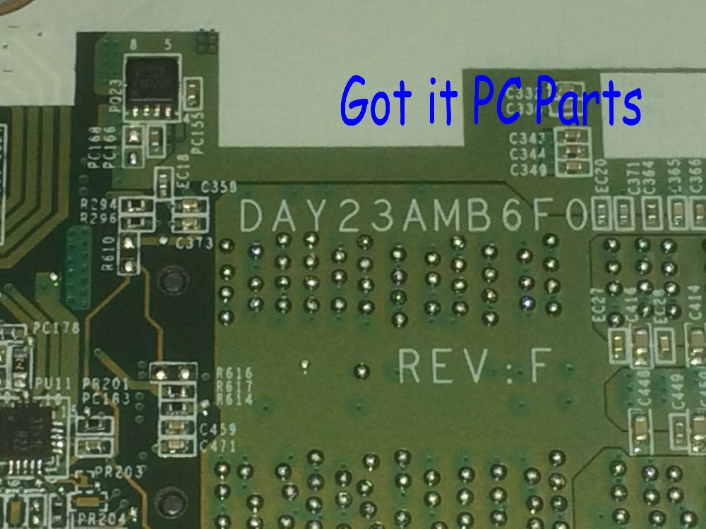 FREE SHIPPING DAY23AMB6F0 REV : F LAPTOP MOTHERBOARD For HP PAVILION 17-F SERIES NOTEBOOK PC PROCESSOR a10