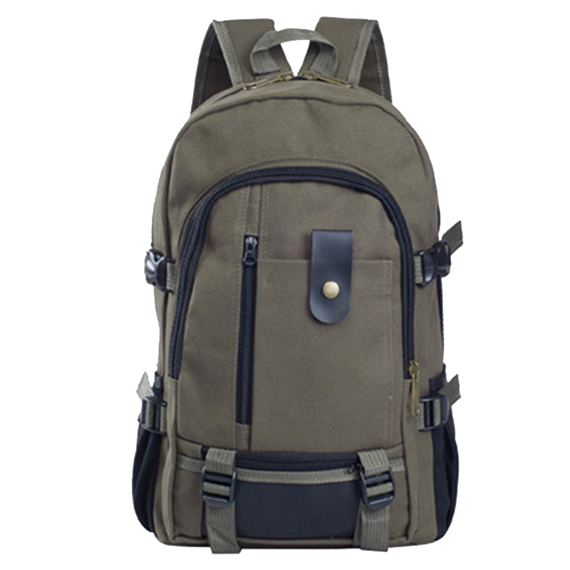 Canvas Backpack Travel Vintage  Laptop Backpack Shoulder Bag Computer Functional Versatile Bags