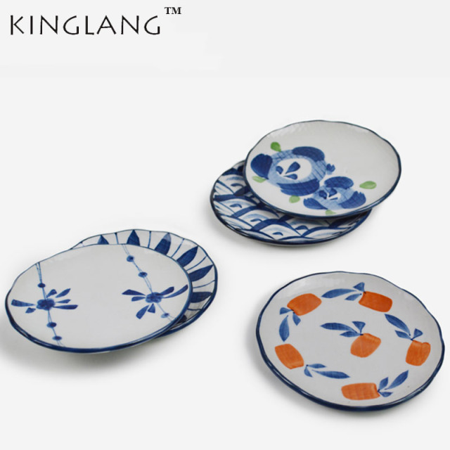 5.5u0027u0027 Japanese ceramic HENGFENG design dish small saucer dinner plate  sc 1 st  AliExpress.com : design dinner plates - pezcame.com