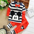 2015 new baby boys clothing set  spring/autumn sports babi boys suit children  Long sleeve set boy suit free shipping