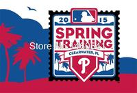 2015 Spring Training Flag 3ft X 5ft Polyester MLB Philadelphia Phillies Banner Flying Size No 4