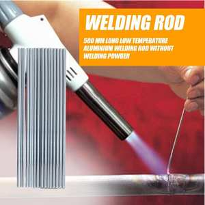 10pcs 500mm Low Temperature Aluminum Welding Rod Electrodes Welding Sticks strong Weldability