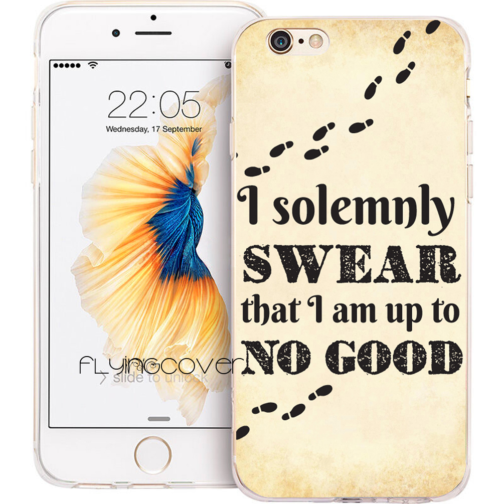 Coque <font><b>Harry</b></font> <font><b>Potter</b></font> Fundas Clear Soft TPU Silicone Phone Cover for <font><b>iPhone</b></font> X 7 <font><b>8</b></font> Plus 5S 5 SE 6 6S Plus 4 5C iPod Touch 6 5 <font><b>Cases</b></font> image
